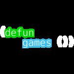 (defun games ()) logo, transparent background