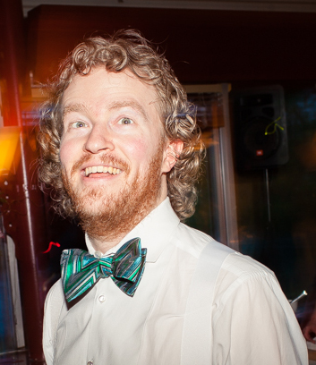 Scott Helvick, grinning like he just got married